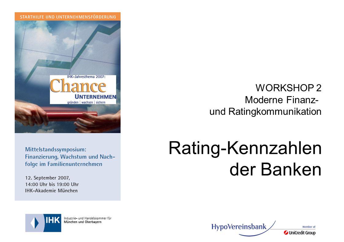 Rating-Kennzahlen der Banken