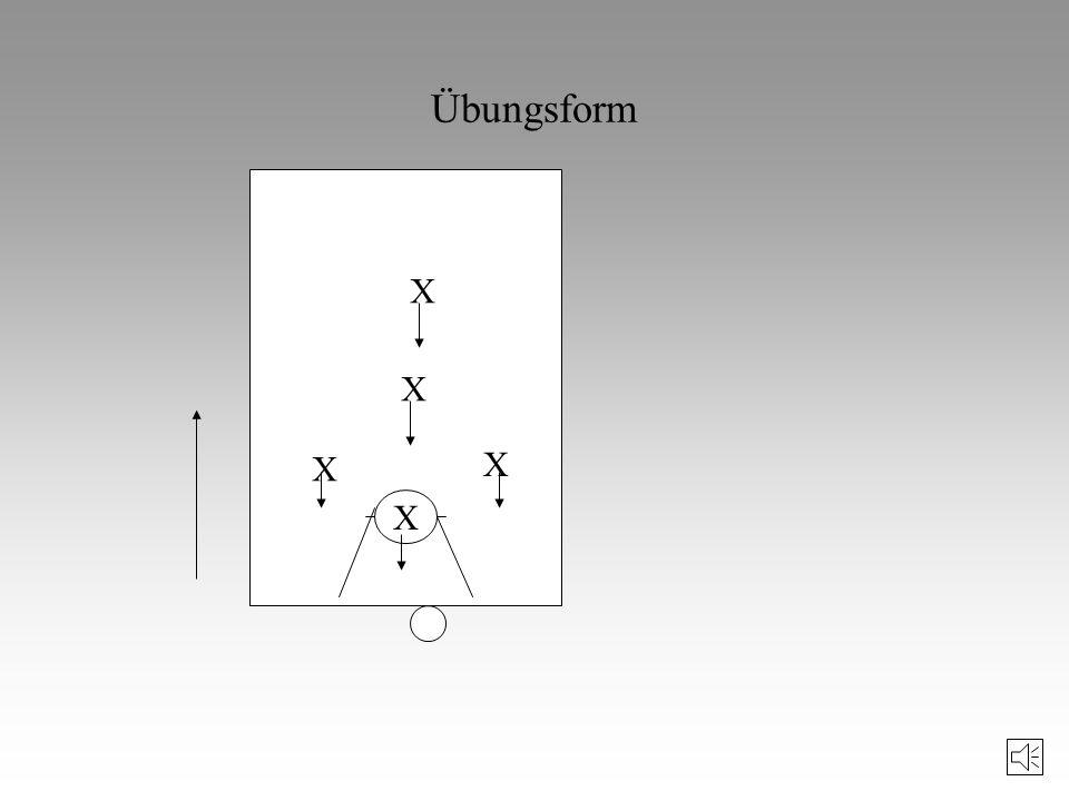 Übungsform X