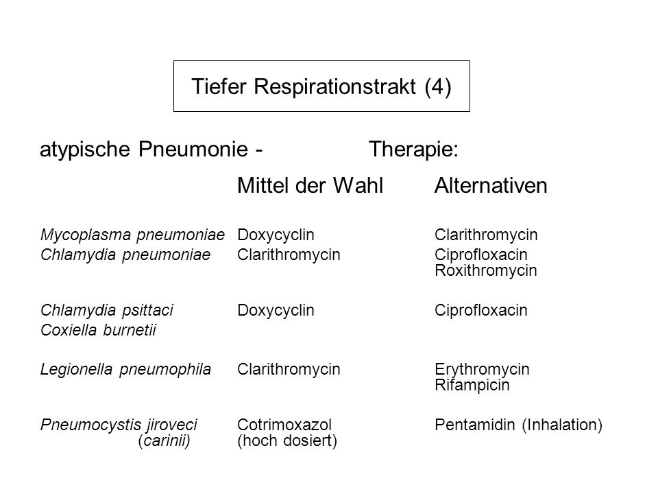 Tiefer Respirationstrakt (4)