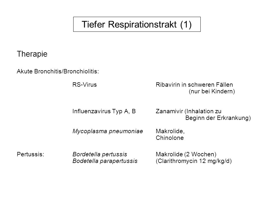 Tiefer Respirationstrakt (1)