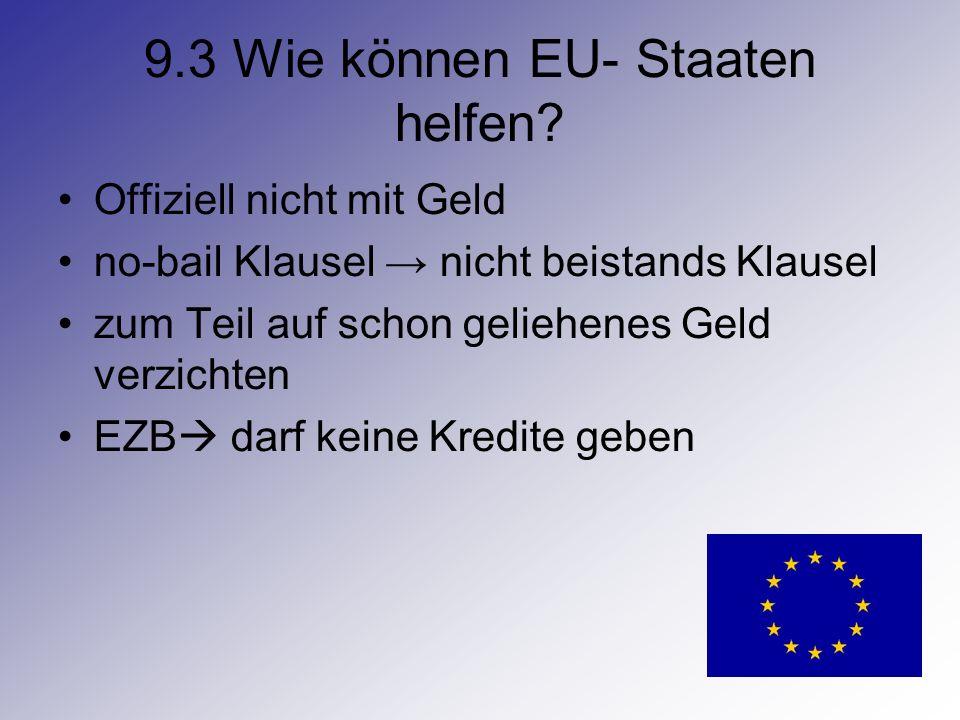 9.3 Wie können EU- Staaten helfen