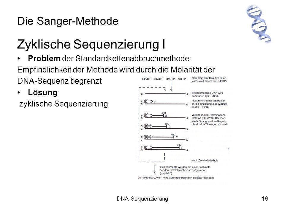 Zyklische Sequenzierung I