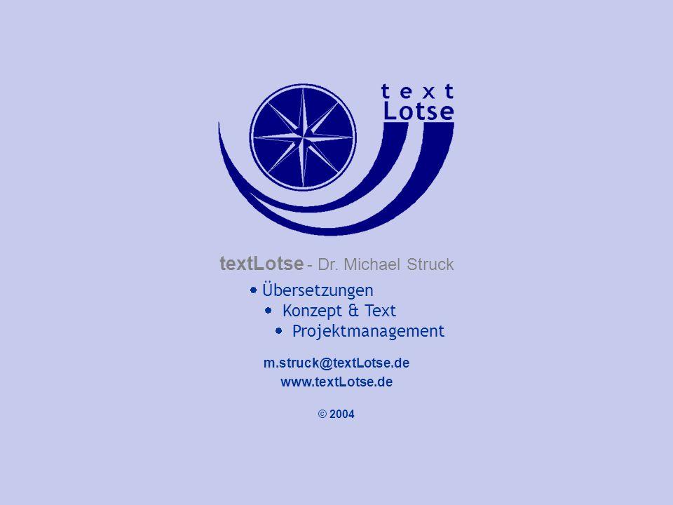 textLotse - Dr. Michael Struck