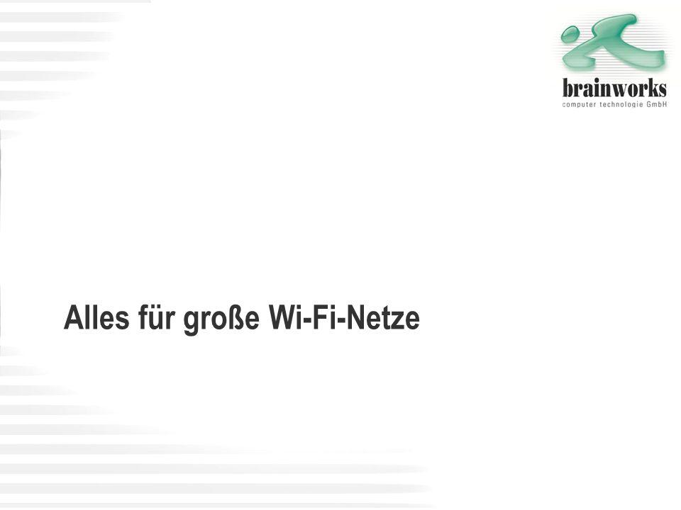 Alles für große Wi-Fi-Netze