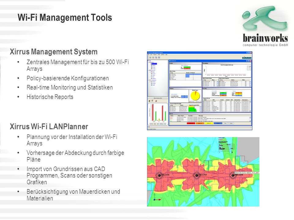 Wi-Fi Management Tools