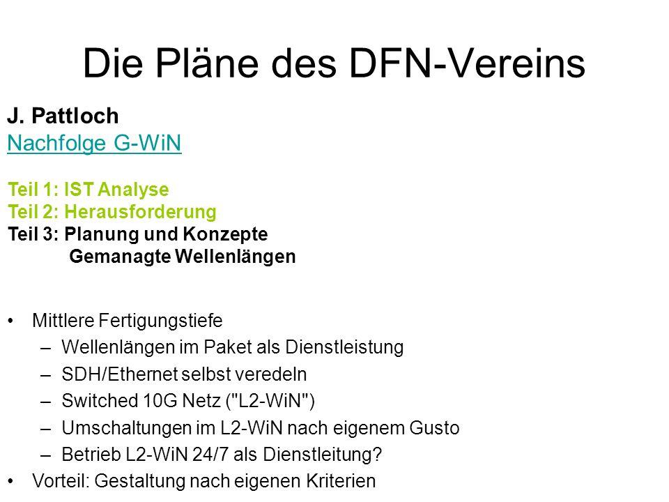 Die Pläne des DFN-Vereins