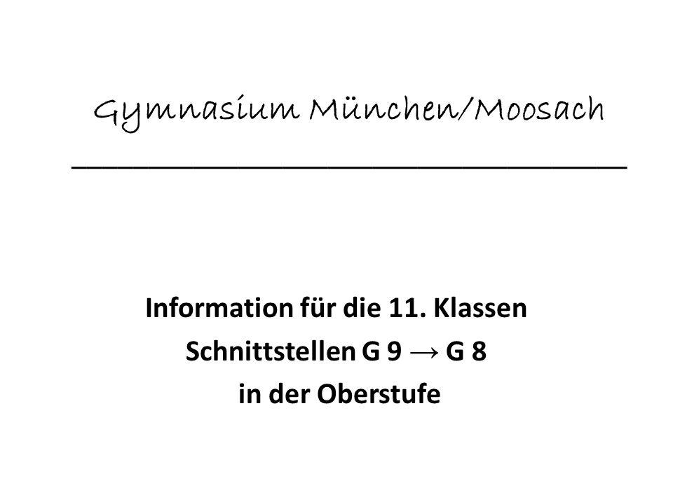Gymnasium München/Moosach _____________________________________