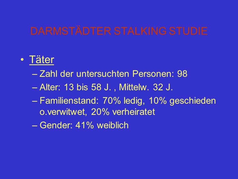 DARMSTÄDTER STALKING STUDIE