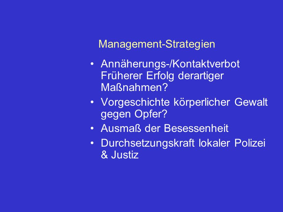 Management-Strategien