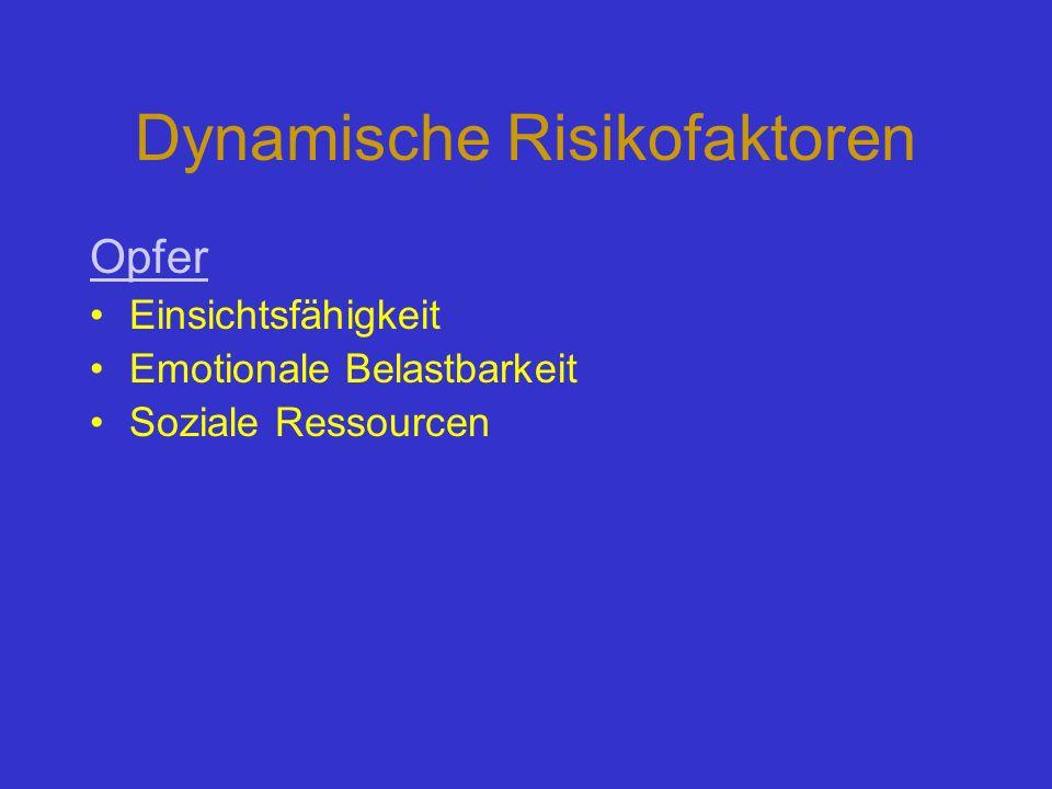 Dynamische Risikofaktoren