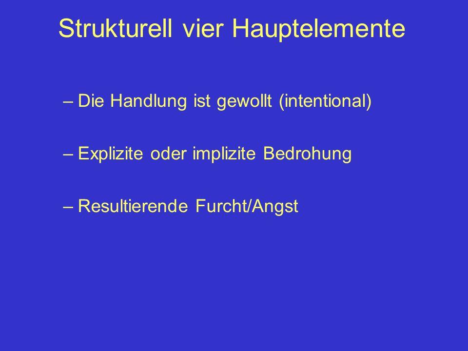 Strukturell vier Hauptelemente