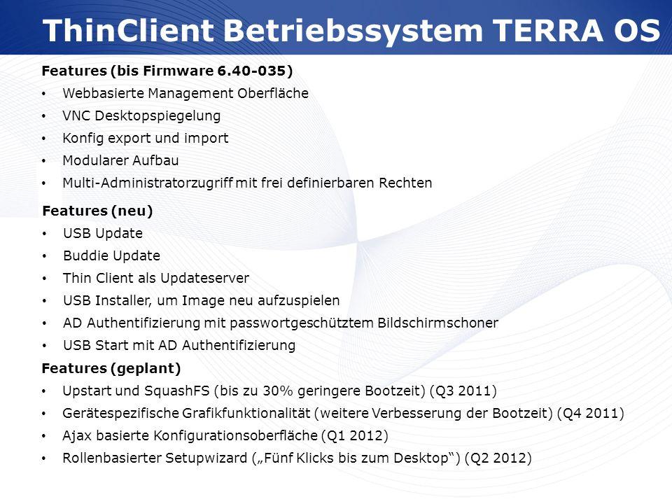 ThinClient Betriebssystem TERRA OS