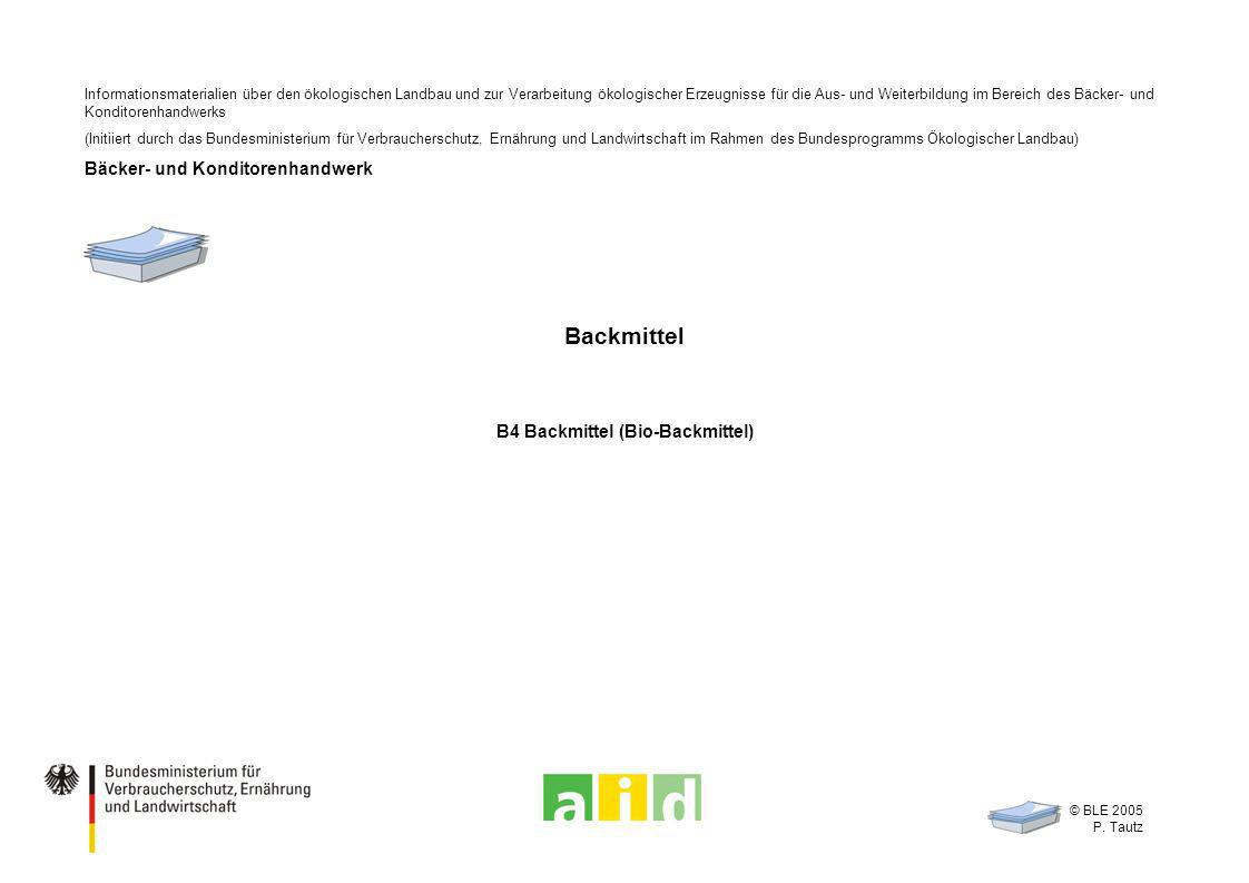 B4 Backmittel (Bio-Backmittel)