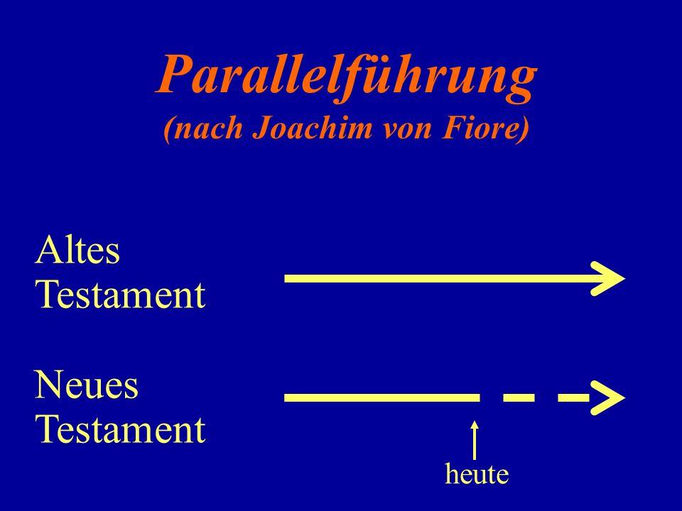 (nach Joachim von Fiore)