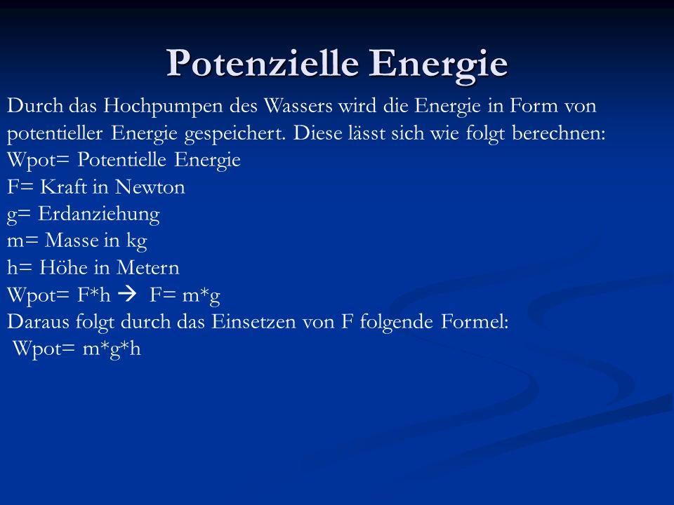 Potenzielle Energie