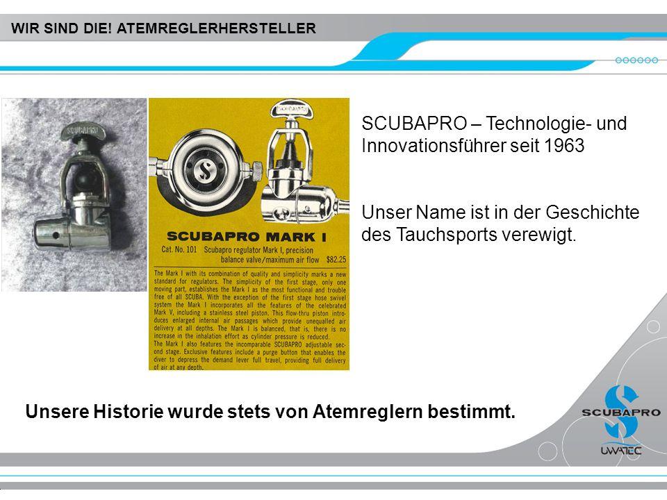 SCUBAPRO – Technologie- und Innovationsführer seit 1963