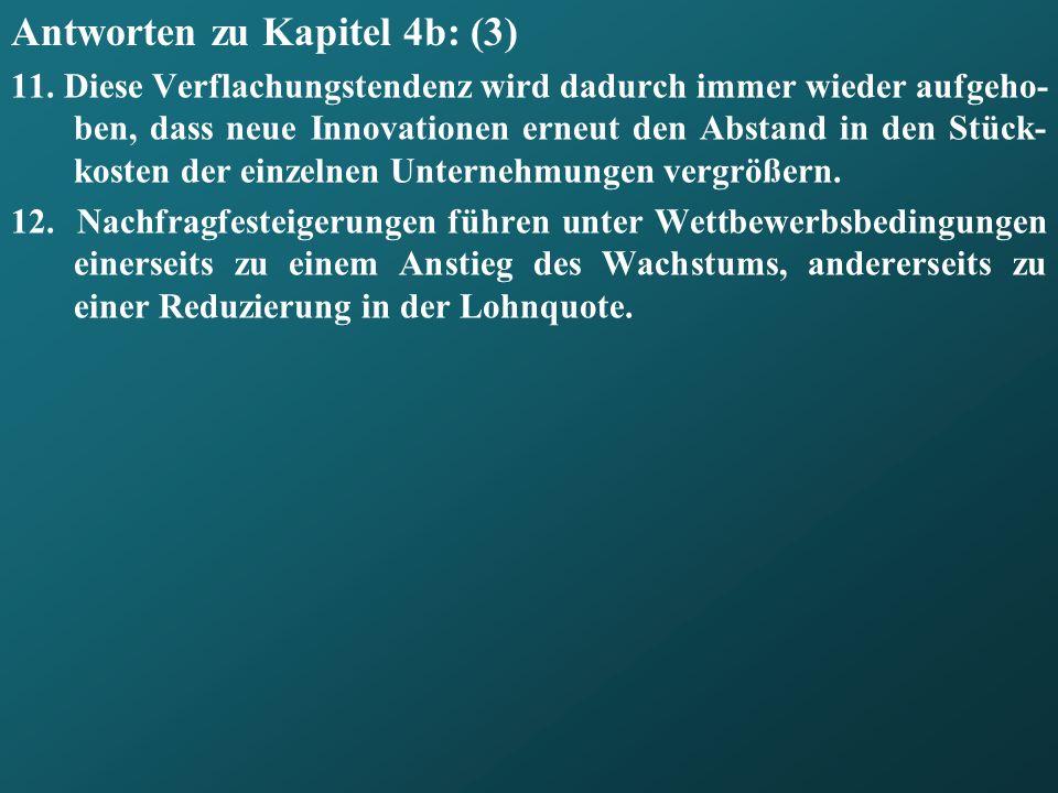 Antworten zu Kapitel 4b: (3)