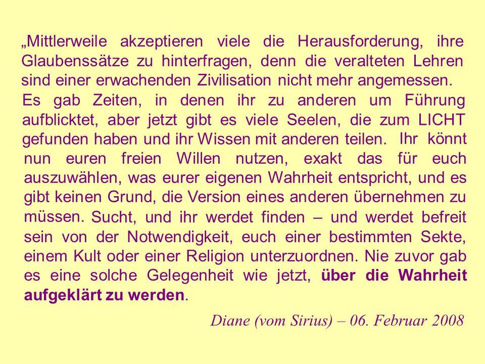 Diane (vom Sirius) – 06. Februar 2008