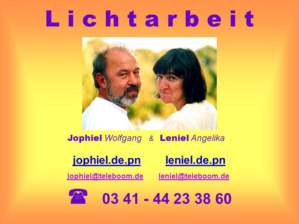Jophiel Wolfgang & Leniel Angelika .