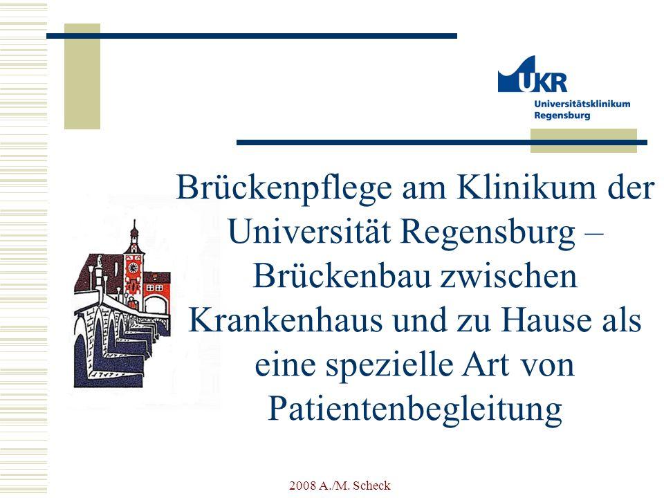Brückenpflege am Klinikum der Universität Regensburg –Brückenbau zwischen Krankenhaus und zu Hause als eine spezielle Art von Patientenbegleitung