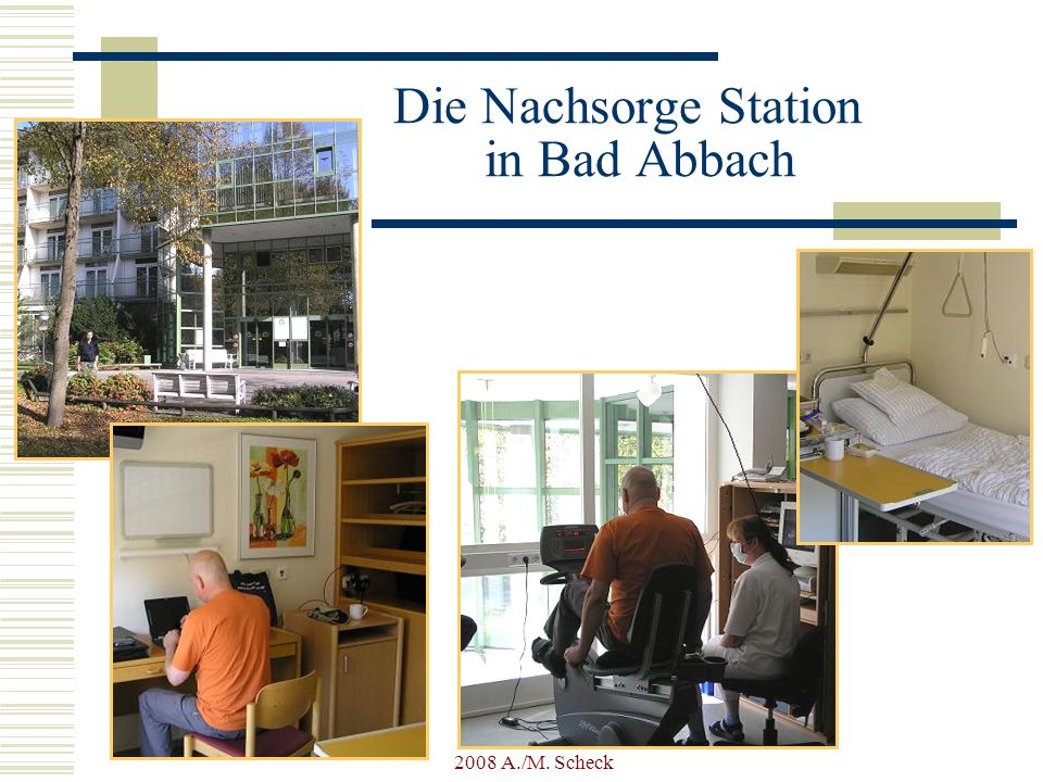 Die Nachsorge Station in Bad Abbach