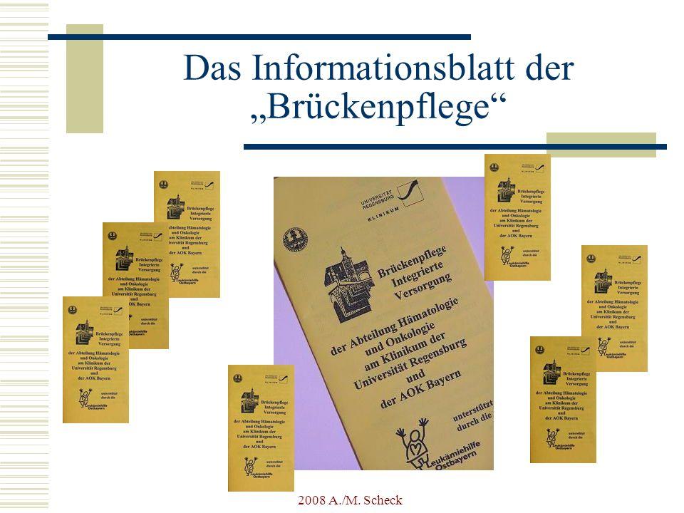 """Das Informationsblatt der """"Brückenpflege"""
