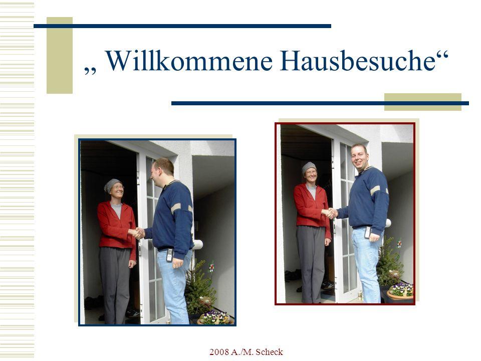 """"""" Willkommene Hausbesuche"""