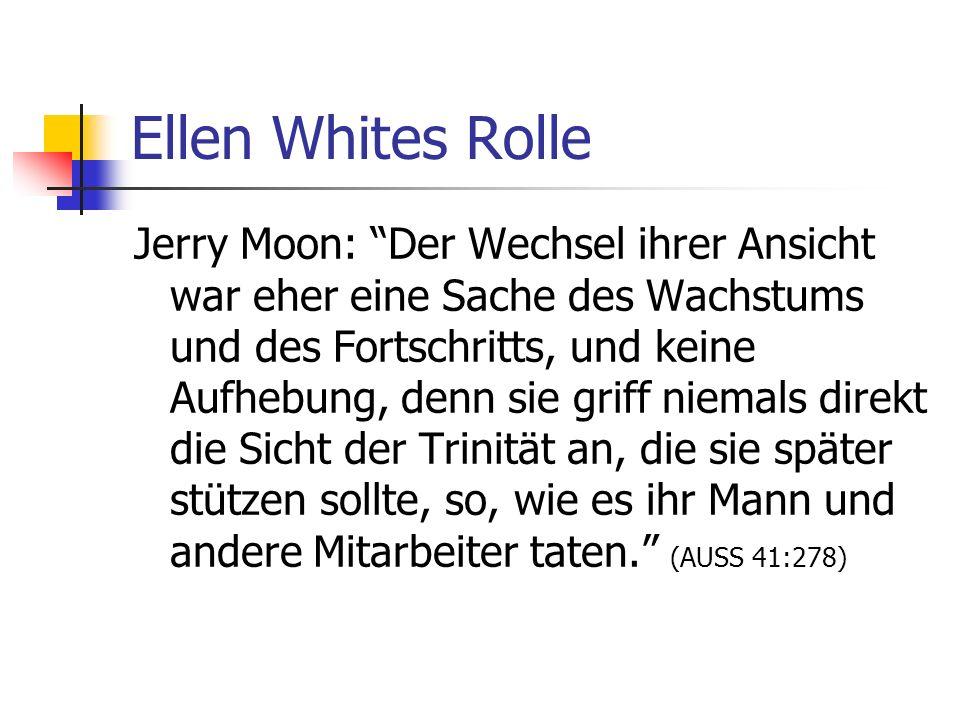 Ellen Whites Rolle