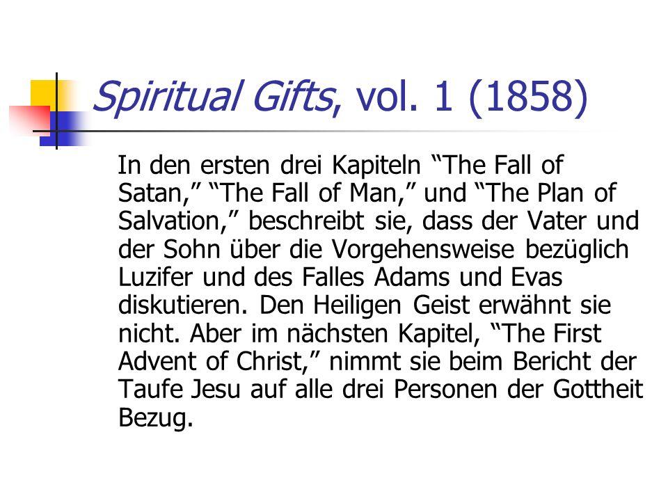 Spiritual Gifts, vol. 1 (1858)