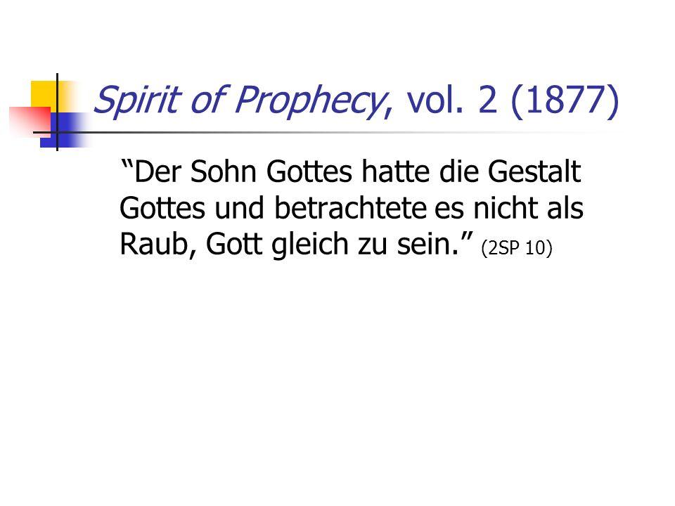 Spirit of Prophecy, vol. 2 (1877)