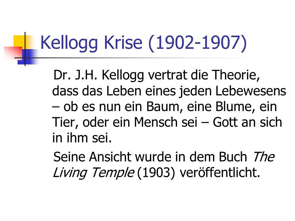 Kellogg Krise (1902-1907)