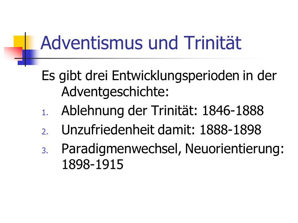 Adventismus und Trinität
