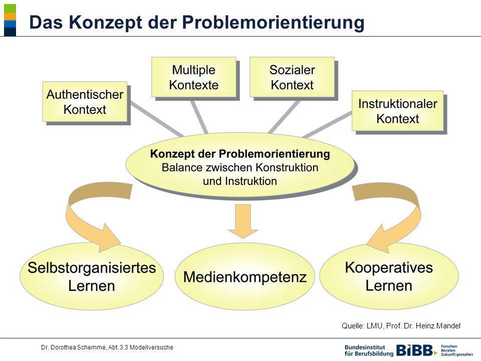 Das Konzept der Problemorientierung