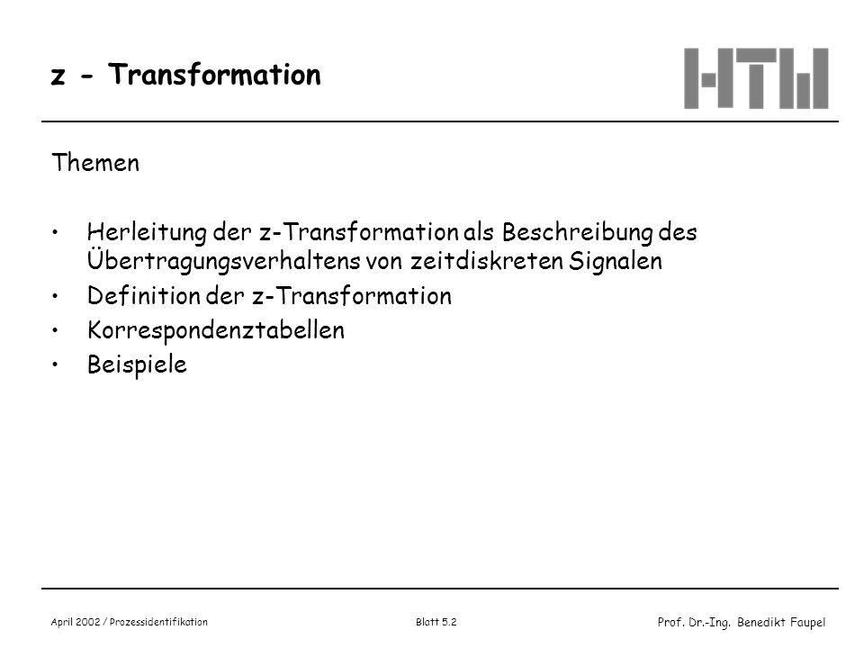 z - Transformation Themen