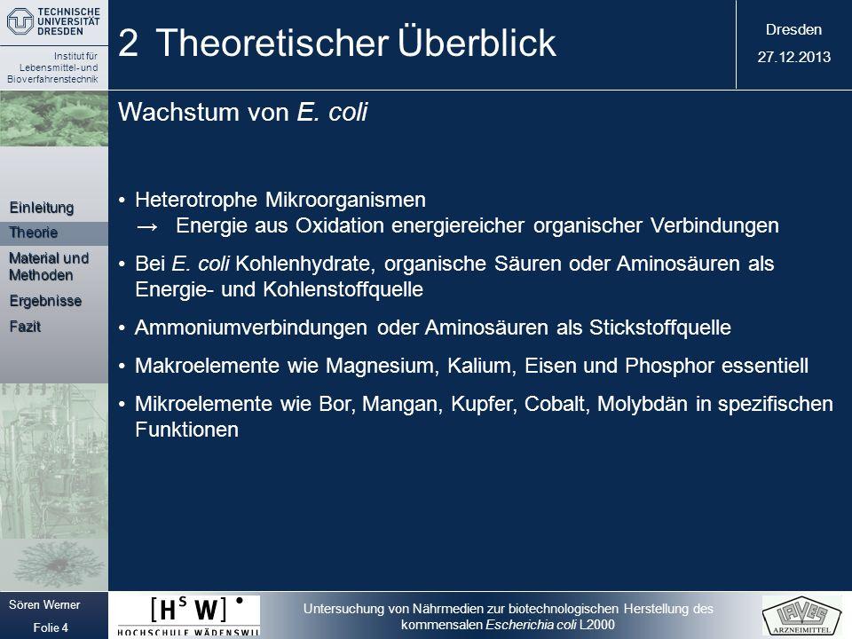 2 Theoretischer Überblick