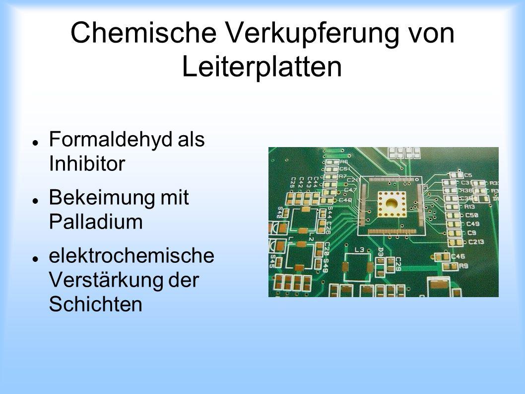 Chemische Verkupferung von Leiterplatten