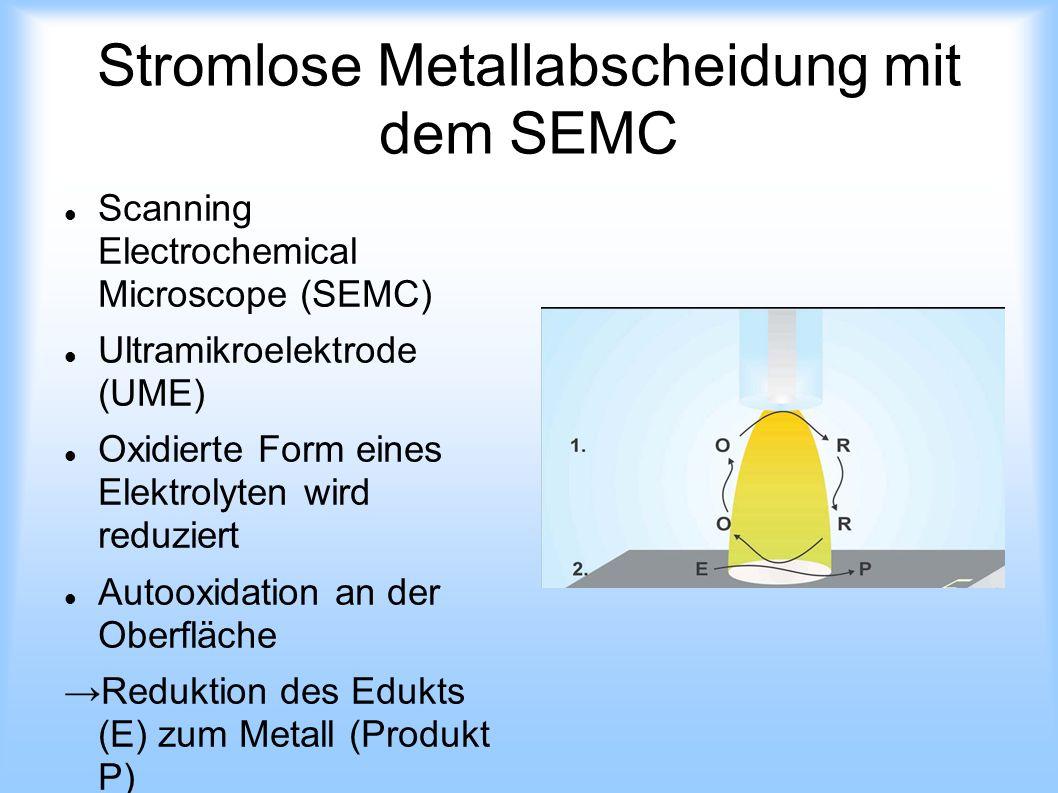 Stromlose Metallabscheidung mit dem SEMC