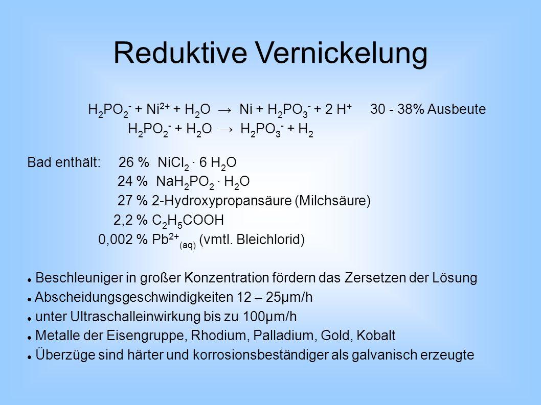 Reduktive Vernickelung