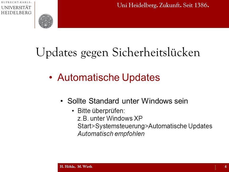 Updates gegen Sicherheitslücken