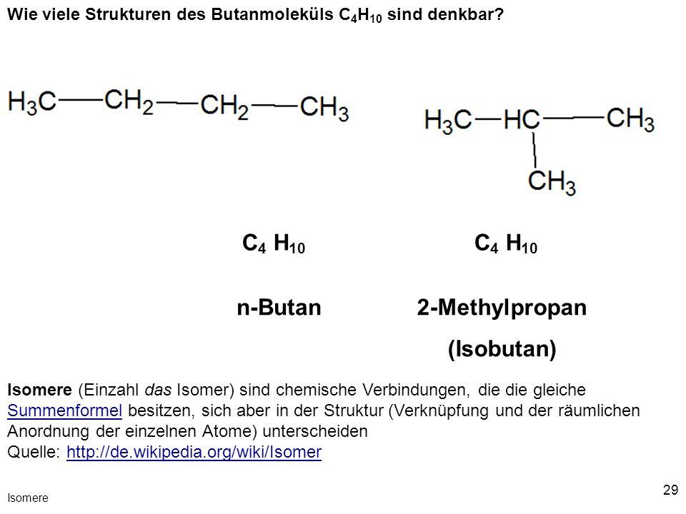 2-Methylpropan (Isobutan)
