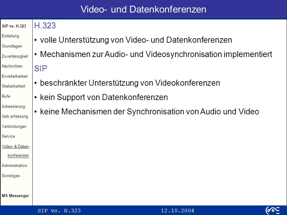 Video- und Datenkonferenzen