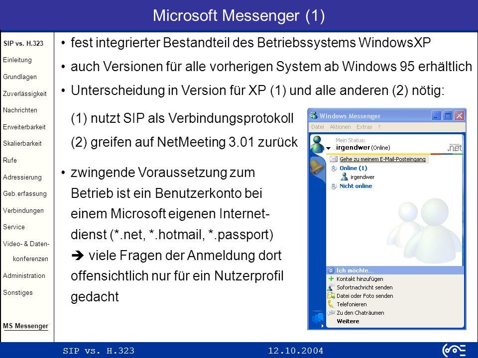 Microsoft Messenger (1)