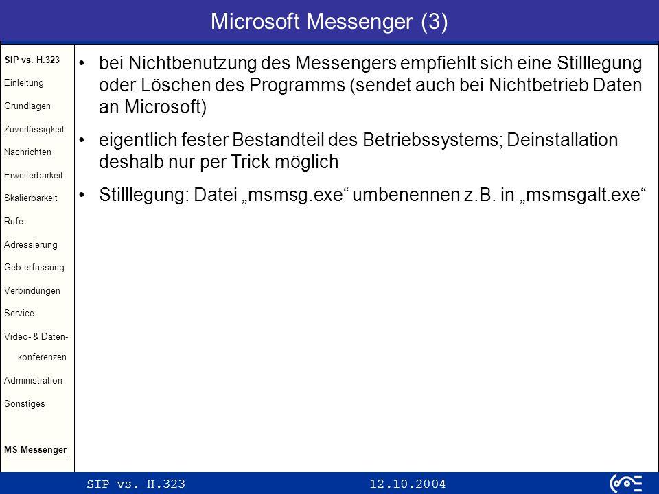 Microsoft Messenger (3)