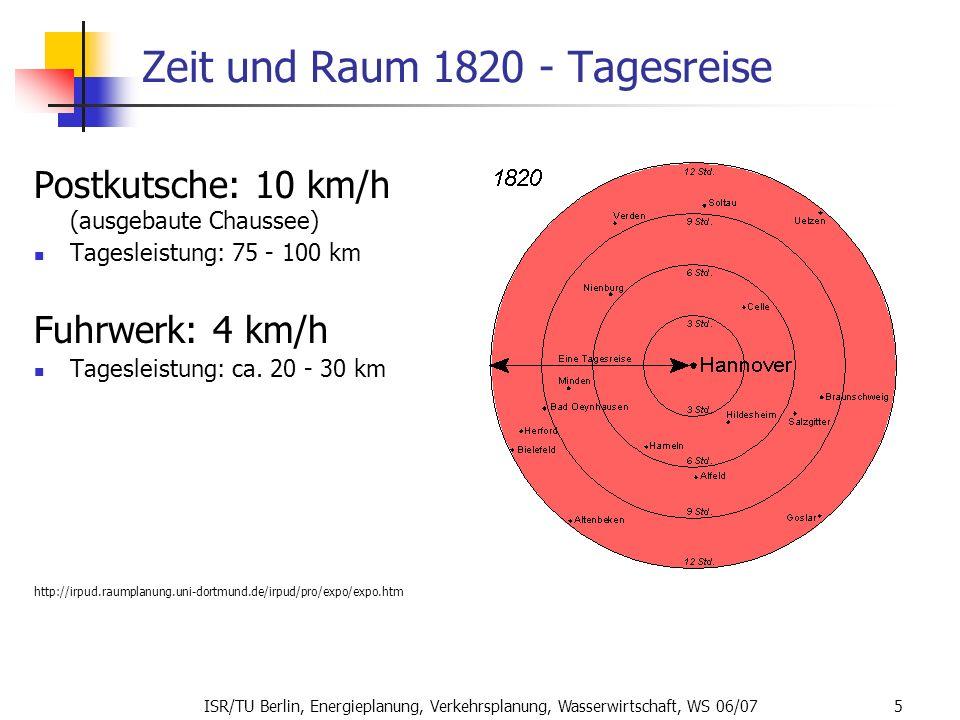 Zeit und Raum 1820 - Tagesreise