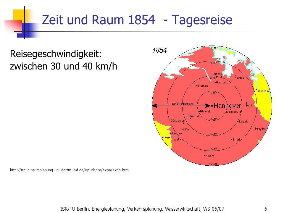 Zeit und Raum 1854 - Tagesreise