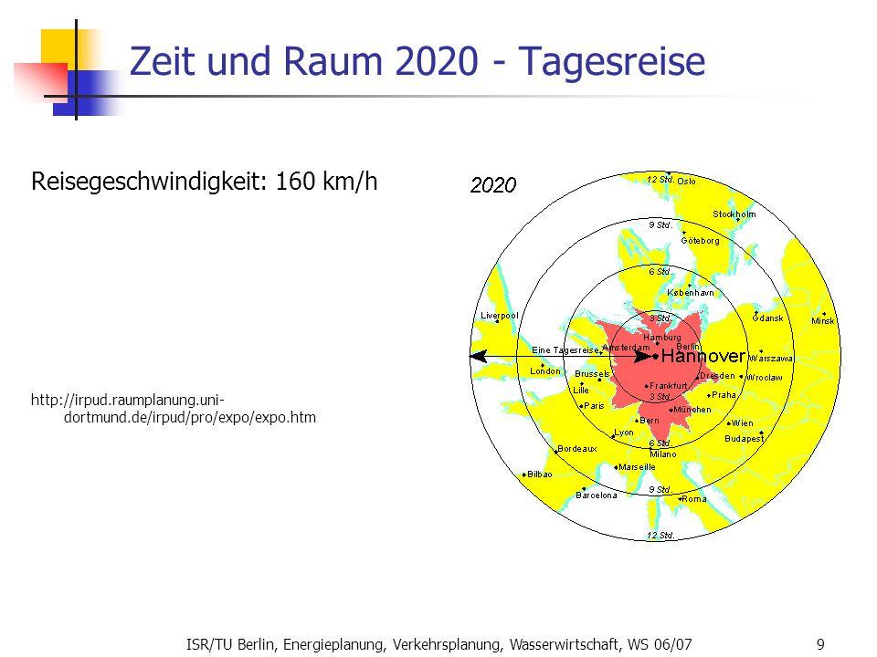 Zeit und Raum 2020 - Tagesreise