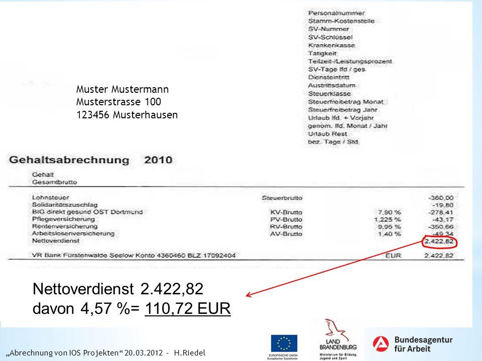 Nettoverdienst 2.422,82 davon 4,57 %= 110,72 EUR