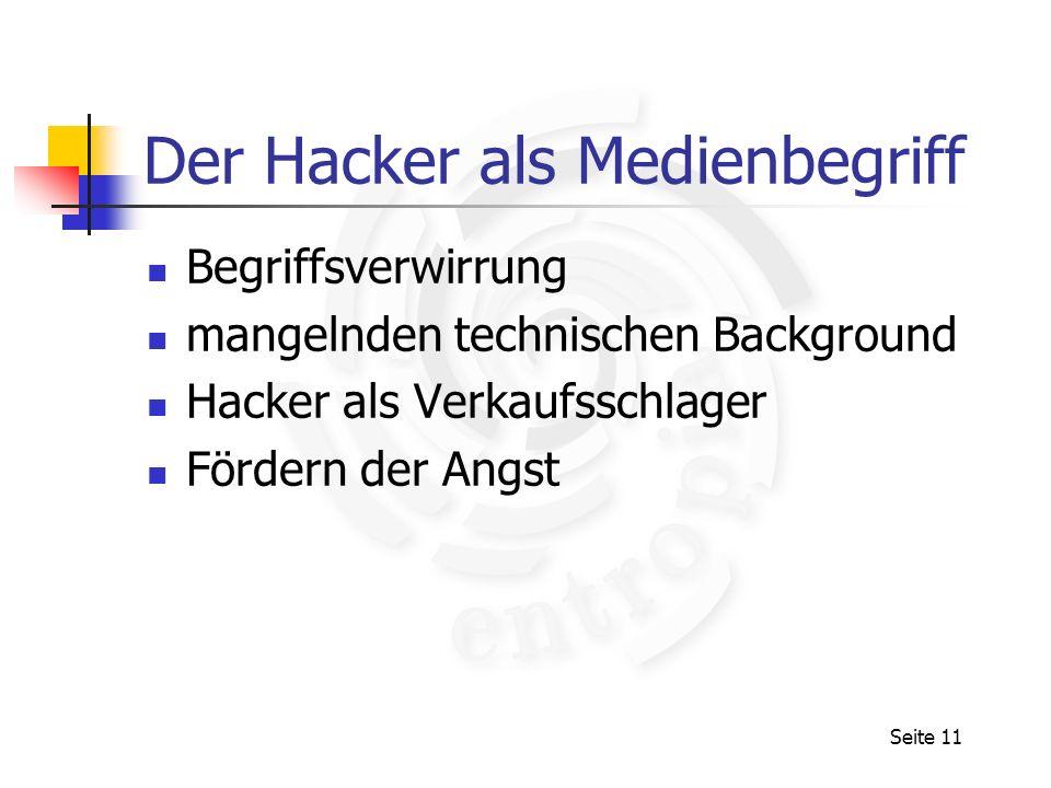 Der Hacker als Medienbegriff