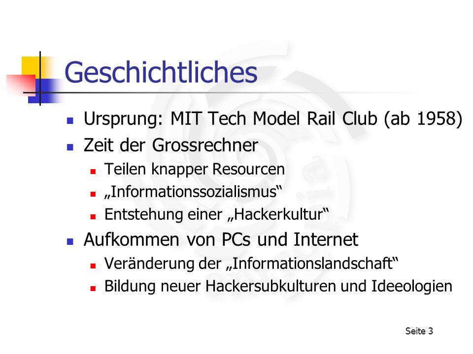 Geschichtliches Ursprung: MIT Tech Model Rail Club (ab 1958)