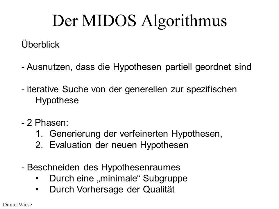 Der MIDOS Algorithmus Überblick